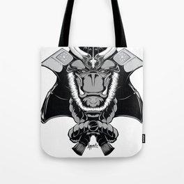 Savage Society: Gorilla Samurai Tote Bag