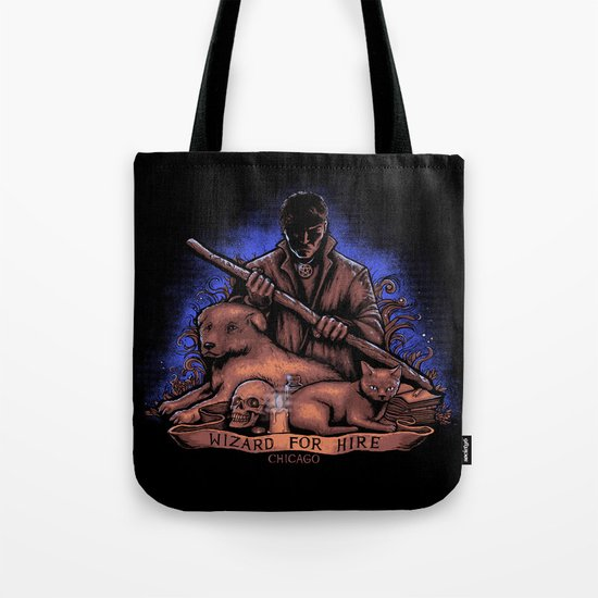 Wizard For Hire Tote Bag