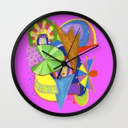 Women Idol Wall Clock
