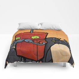 Robot - You Make Me Laugh Comforters