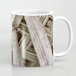 Roman Temple Corinthian Columns Nimes Provence France Coffee Mug