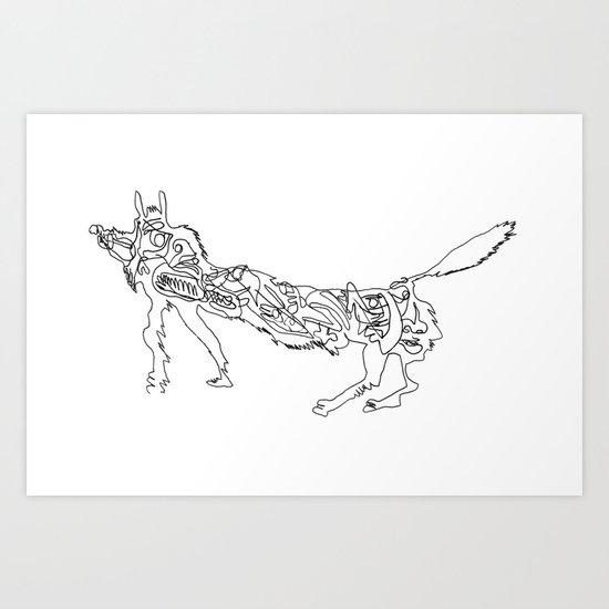 2012 - E Art Print