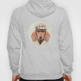 The stylish Mr Dachshund Hoody