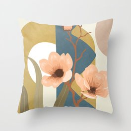 Elegant Shapes 02 Throw Pillow