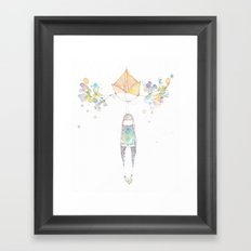 branching out. Framed Art Print