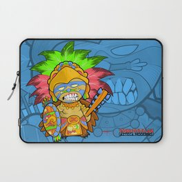Azteca Moderno - Eagle Warrior Munny Laptop Sleeve