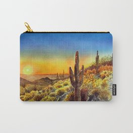 Arizona's Sunset Carry-All Pouch