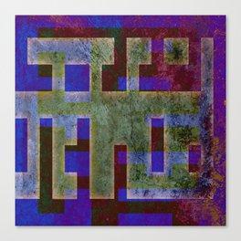 PLANS Canvas Print