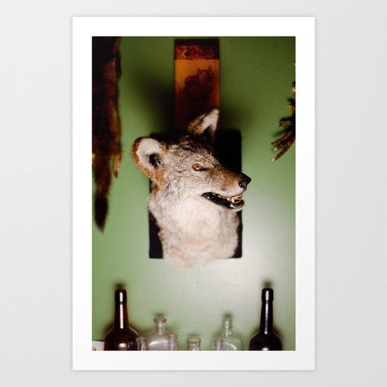 'Yote Art Print