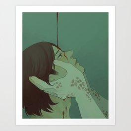 Annointed by Blood (Supernatural) Art Print