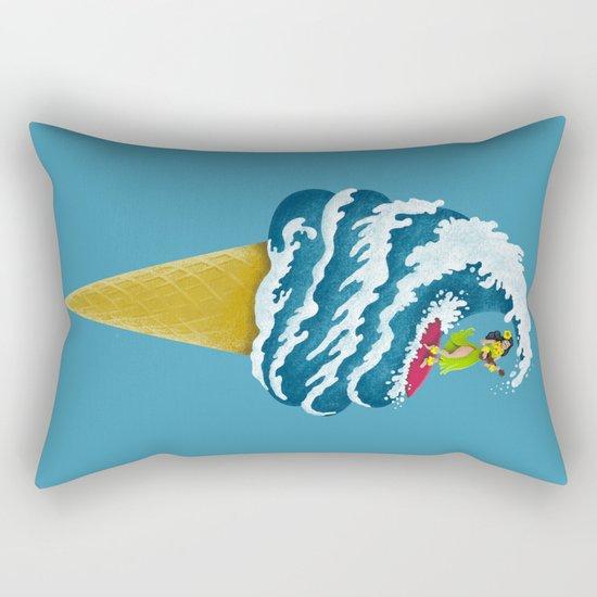 Perfect Wave Rectangular Pillow