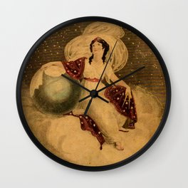 Urania's Mirror Wall Clock