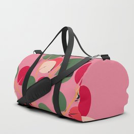 Enjoy Every Moment - Pink Duffle Bag