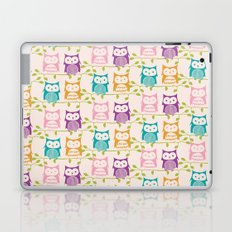 T-wit T-woo Owl print Laptop & iPad Skin