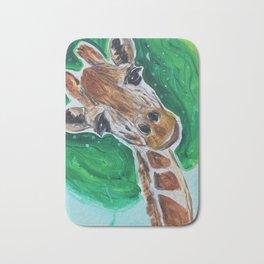 Billy The Giraffe Bath Mat