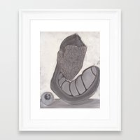 et Framed Art Prints featuring et by holimp art