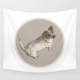 Scratchy the Jack-Russel Wall Tapestry