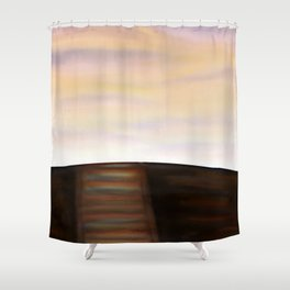 Where the Light Goes Shower Curtain