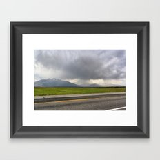 Summer Storm Framed Art Print