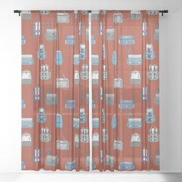 BACKPACK Sheer Curtain