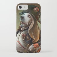 napoleon iPhone & iPod Cases featuring Napoleon Boneaparte by Christina Hess
