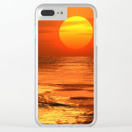 Tramonto Clear iPhone Case