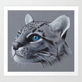 Ocelot Art Print