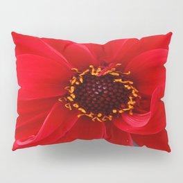 Red Red Dahlia Pillow Sham