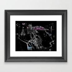 London Soho Framed Art Print