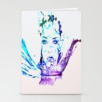splash Stationery Cards featuring Splash by CLE.ArT.