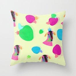 Cabra & Caju Throw Pillow