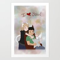 For Dad~ Art Print