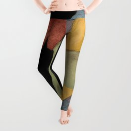3woman,statuette,figure,colourful,wall art,decor,modern,contemporary,feminine,nude,naked,power,butt Leggings