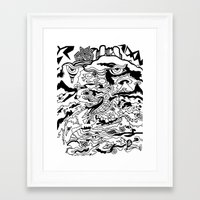 saxophone Framed Art Prints featuring Saxophone Dreams by Jay Baldridge