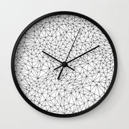 three sides to every story Wall Clock