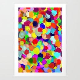 Crowd Art Print