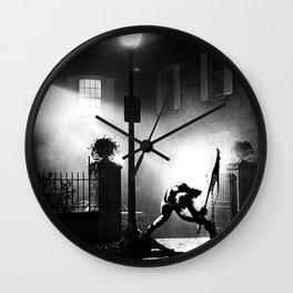 Exorcist Calling Wall Clock