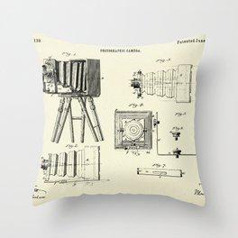 Photographic Camera-1885 Throw Pillow