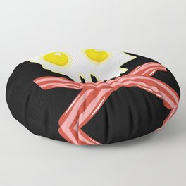 Bacon & Eggs - Vegan Zombie Floor Pillow