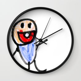 Baby! by Jack Wall Clock