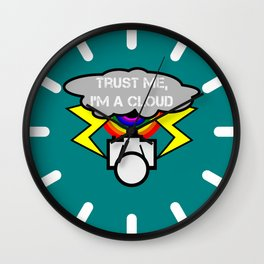 Trust me I'm a cloud Wall Clock