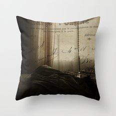 Waking up in Paris Throw Pillow