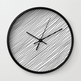 Righe Wall Clock