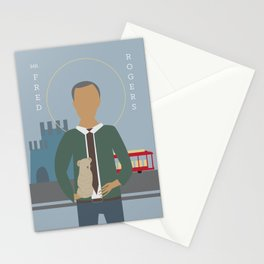 Mr. Rogers Icon Stationery Cards