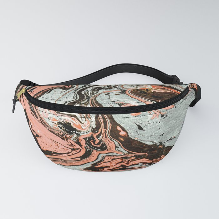 Abstract luxury painting marble Fanny Pack