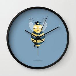 Queen of My Vaccine Wall Clock