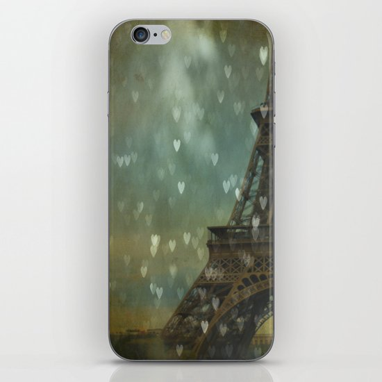 I Left My Heart in Paris iPhone & iPod Skin