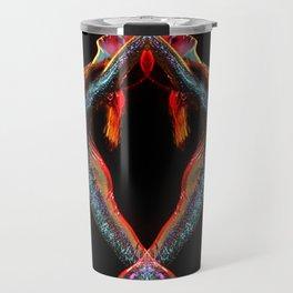 Metallic Rainbow Dancer Travel Mug