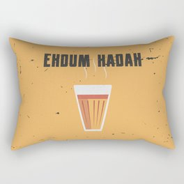 Funny Hot Chai Quote Rectangular Pillow