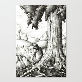 Summer afternoon Canvas Print